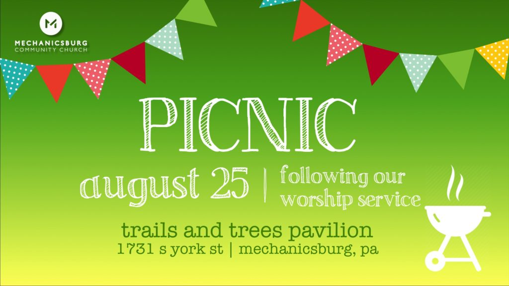 Church Picnic – Mechanicsburg Community Church